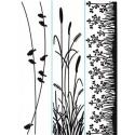 Embos kapsa tři proužky traviny