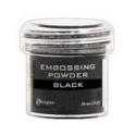 Embossový pudr - black