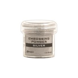 Embossový pudr - silver