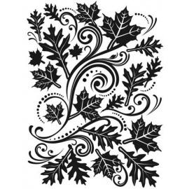 Embossovací kapsa listy a spirály