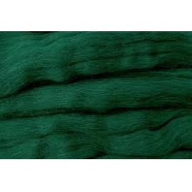 Merino ovčí rouno 006 - 20 gr. tmavě zelená