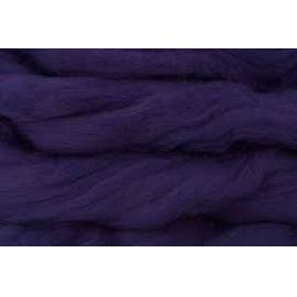 Merino ovčí rouno 012 - 10 gr. tmavě fialová