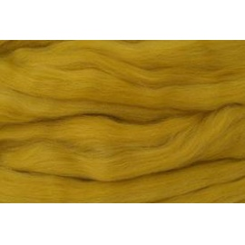 Merino ovčí rouno 014 - 20 gr. tmavě žlutá