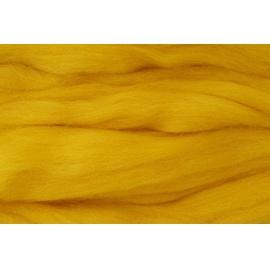 Merino ovčí rouno 015 - 20 gr. sytě žlutá