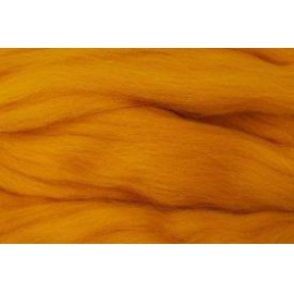 Merino ovčí rouno 016 - 20 gr.  oranžově žlutá