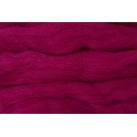 Merino ovčí rouno 021 - 10 gr.  tmavá sytě růžová