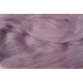 Merino ovčí rouno 024 - 20 gr.  světle fialovo růžová
