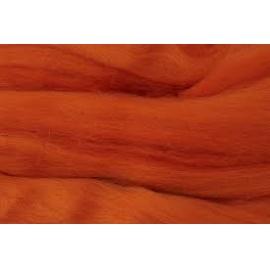Merino ovčí rouno 027 - 20 gr.  oranžová