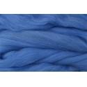 Merino ovčí rouno 028 - 20 gr.  modrá