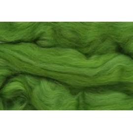 Merino ovčí rouno 035 - 20 gr. hráškově zelená