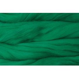 Merino ovčí rouno 037 - 20 gr. modrozelená