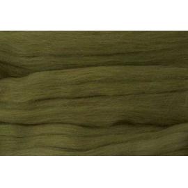 Merino ovčí rouno 039 - 20 gr. olivově zelená
