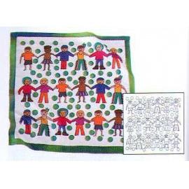 Gutta šátek Děti P5 55x55 cm