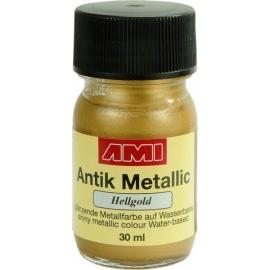 Antik mettalic 30 ml - světle zlaté