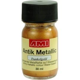 Antik mettalic 30 ml - tmavě zlaté