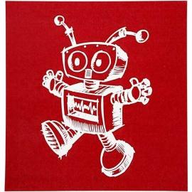 Sítotisk šablona 20*20 cm - robotek