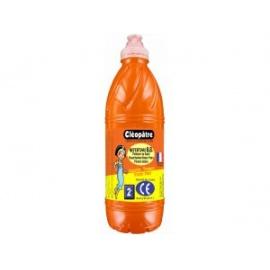 Prstová barva 1 kg - oranžová