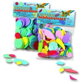 Mossgummi výřezy  - geometrické tvary