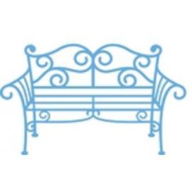 Vyřezávací šablona - lavička