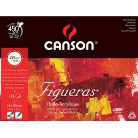 Blok Figueras (olej, akryl) 19x25, 290 g