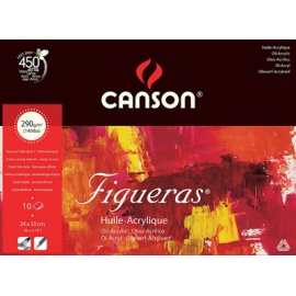Blok Figueras (olej, akryl) 24x33, 290 g