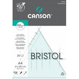 Blok Bristol A4 250 g