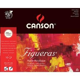 Blok Figueras (olej, akryl) 33x41, 290 g