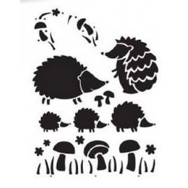 Šablona ježek A4