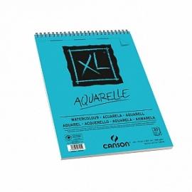 Blok XL modrý Watercolor A4