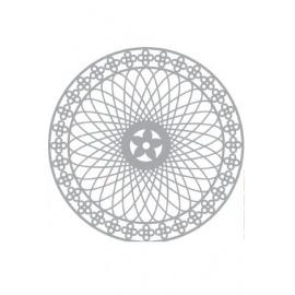 Šablona spirograf 15*15 cm