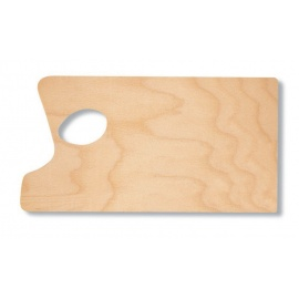 Paleta dřevěná obdélník střední