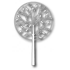 Vyřezávací šablona alessamdria tree