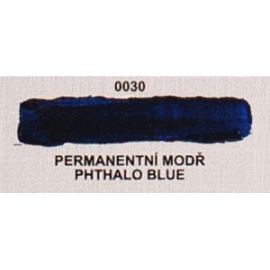 Umton olejová barva permanentní modř 60 ml