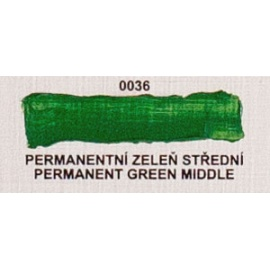 Umton olejová barva permanentní zeleleň stř. 60 ml