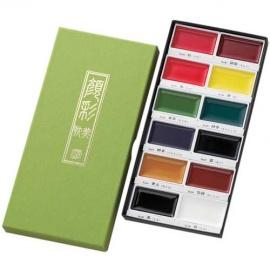 Gansai Tambi 12 - sada akvarelových barev