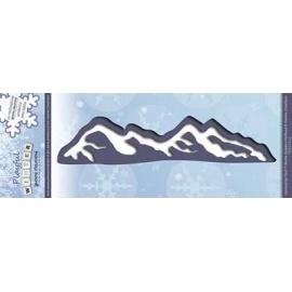 Vyřezávací šablona hory