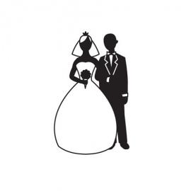 Embossová kapsa svatebčané