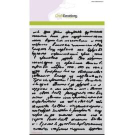 šablona - písmo