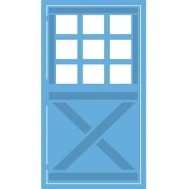 Vyřezávací šablona dveře