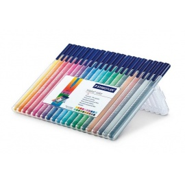 Popisovače staedler triplus liner 20 barev