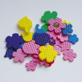 Výseky z pěnové gumy květiny