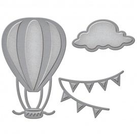 Vyřezávací šablona - balon
