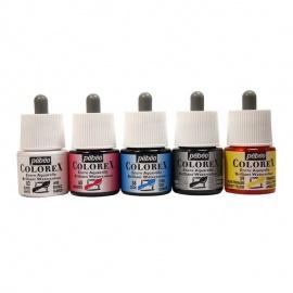 Sada barevných inkoustů Colorex - 5*45 ml