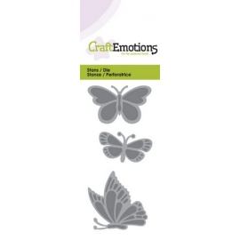 Vyřezávací šablona - motýli