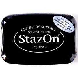 StazOn  - černý archivní polštářek