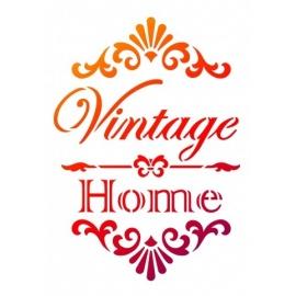 Šablona na textil A4 - Vintage Home
