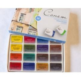 Sada akvarelových barev Sonet 16 ks
