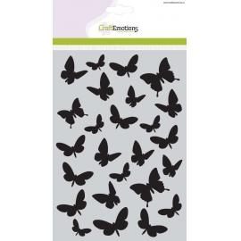 Šablona - motýli