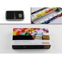 Sada akvarelových barev Watercolor 12 ks v kovové krabičce