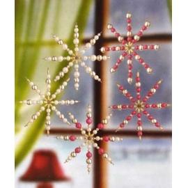 Drátěná hvězda 8 cm - 5 ks